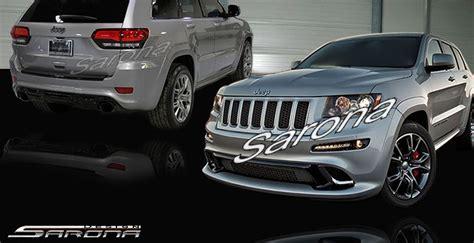 jeep grand cherokee srt modified custom jeep grand cherokee front bumper suv sav crossover
