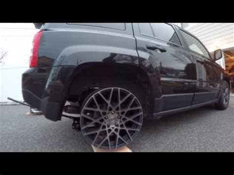 stanced jeep liberty rotiform rims on a slammed jeep saucey media youtube