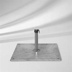 Sockel Für Sonnenschirm : sockel glatz stahlsockel z 40 kg schirmfu vom garten fachh ndler ~ Sanjose-hotels-ca.com Haus und Dekorationen