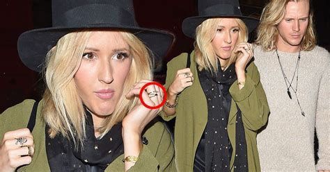 Ellie Goulding and Dougie Poynter fuel more engagement ...