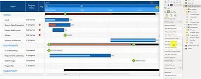 Gantt Chart Step Configuration Guide Label Data