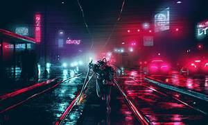 Dark, Cyberpunk, Cityscape, Cyberpunk, Night, Dark, Lights, Futuristic, Wallpapers, Hd, Desktop