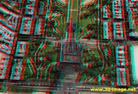 Image 3d 3d Image Anaglyph Tour Eiffel