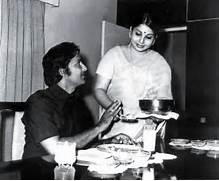 Rare Moment  Sobhan Babu and Jayalalitha  Sobhan Babu Jayalalitha Marriage