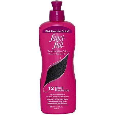 fanci full temporary hair color  black radiance  fl