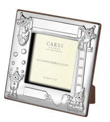 solid silver clown photo frame chmcy frame silver