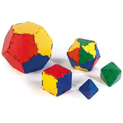 polydron platonic solids starter set sale discount