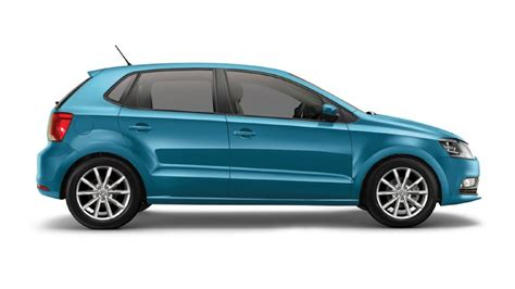volkswagen polo blue silk colour polo colours  india carwale