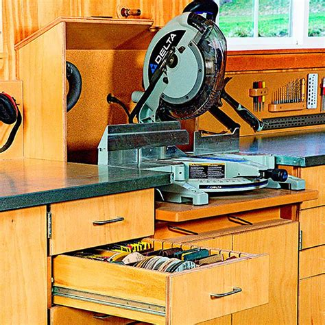 mitersaw dust collection hood woodworking plan  wood