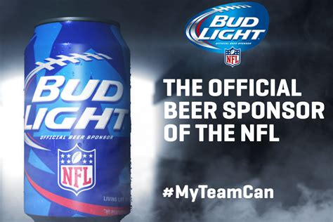 new bud light commercial bud light releases new nfl team specific cans modern thrill