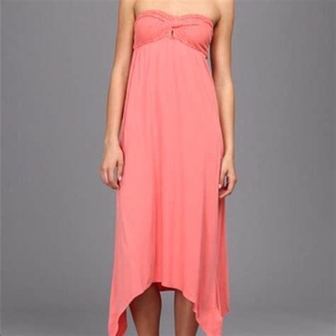 melon colored dress nwt strapless melon colored dress size xs