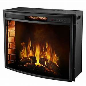 moda flame elwood 28 inch curved electric fireplace insert With small electric fireplace reasons of choosing electric one