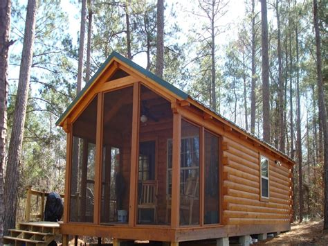 Small Camping Cabin Plans Small Wilderness Cabin Plans