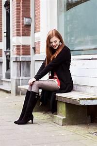 Retro Boots u0026 Skirt Outfit   Retro Sonja Fashion Blogger