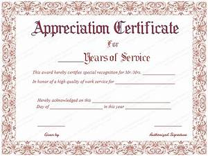 Employee Certificate Templates Free Employee Appreciation Certificate Template Free Volunteer Appreciation Certificates Free