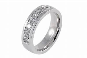 Mens 18ct white gold 7 stone diamond wedding ring for Mens wedding rings with diamonds white gold
