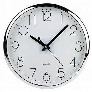 Horloge Murale Silencieuse : pendule horloge murale silencieuse pile lr6 alc achat ~ Melissatoandfro.com Idées de Décoration