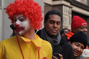 Fast-Food Workers Protest, Charge Wage Theft By McDonald's ...