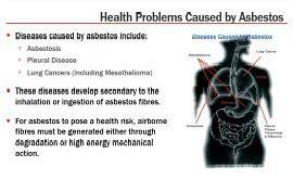 asbestos    health effects  asbestos