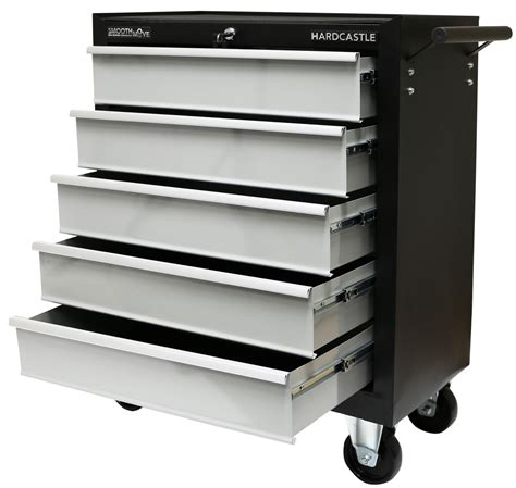 Sale Black 5 Drawer Lockable Tool Chest Storage Roll