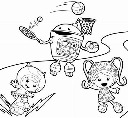 Umizoomi Coloring Team Pages Printable Nick Jr