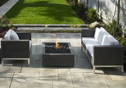 Modern Fire Table  Square Fire Pits  PureModern