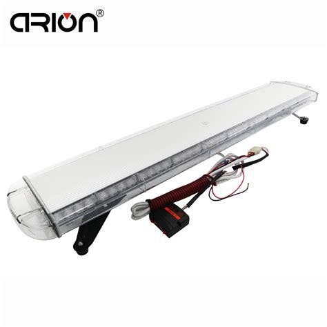 safety light bars cirion 47 quot 88w 88 led strobe flash warning light bar car