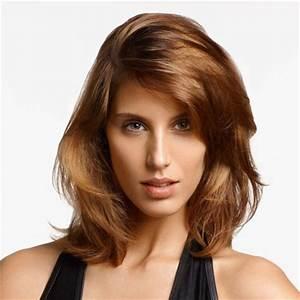 Coupe Cheveux Visage Ovale : coupe de cheveux visage rectangulaire coupes de cheveux ~ Melissatoandfro.com Idées de Décoration