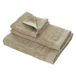 Buy Roberto Cavalli Logo Towel  Sand 886  Guest Towel