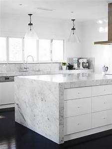 Plan De Travail Effet Marbre : le plan de travail en marbre ~ Preciouscoupons.com Idées de Décoration