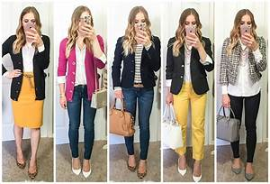 5 Business Casual & Casual Work Attire Outfits for Fall