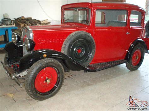 Vintage Fiat Balilla 3 Marce Anno 1932 Fully Restored