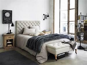 Bout De Lit Capitonné : un banc en bout de lit pratique et d co joli place ~ Melissatoandfro.com Idées de Décoration