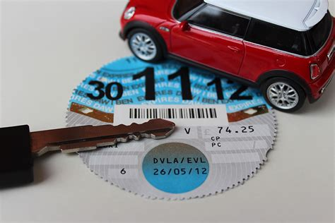 uk car road tax bands