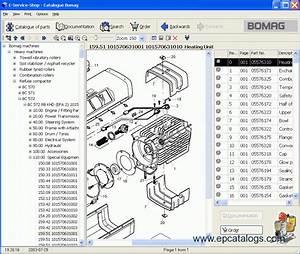 Bomag Heavy  U0026 Light Machines 2012 Spare Parts Catalog Download
