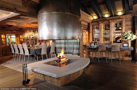 Chalet Lhotse Rustic Yet Glamorous In by Ski Chalet In Courchevel With Works From