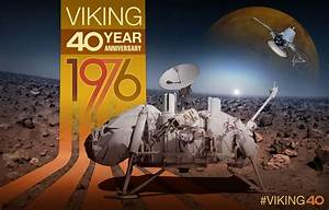 Viking 40th Anniversary Artwork | Mars Exploration Program