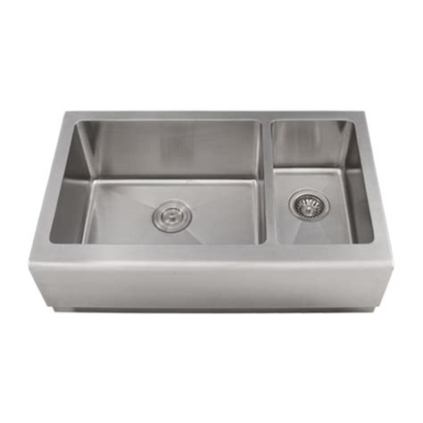 16 gauge vs 18 gauge sink for kitchen ticor 33 quot s4406 apron 16 gauge stainless steel kitchen sink