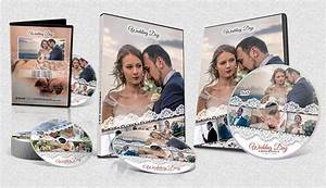 Wedding DVD and Bluray Cover and Label Template PSD files
