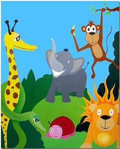 Kinderbilder Fürs Kinderzimmer : pin zebra acryl malerei on pinterest ~ Markanthonyermac.com Haus und Dekorationen