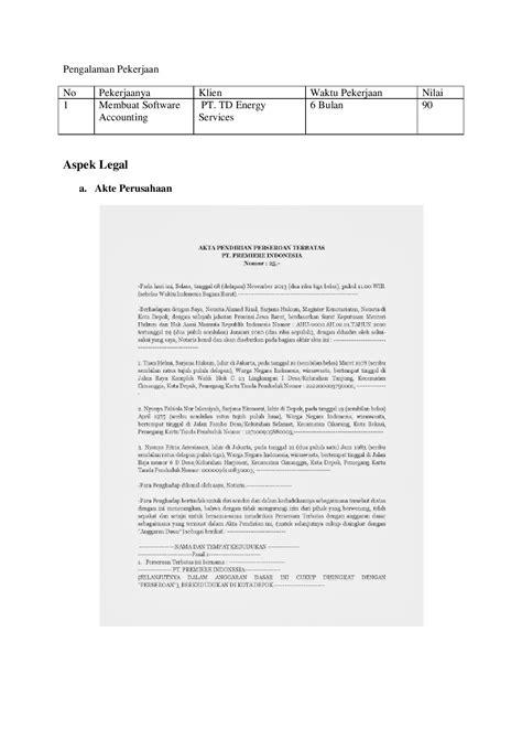 Contoh Surat Kontrak Kerjasama Event Organizer - Barisan Contoh