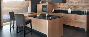 Cuisine Bois Massif : cuisine haut de gamme sur mesure trocadero marque ~ Premium-room.com Idées de Décoration