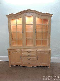 Ethan Allen White Curio Cabinet by Ethan Allen Country Legacy Server Sideboard Flip