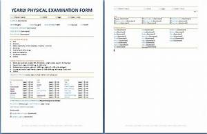 Make Poster Online Free Printable Yearly Physical Examination Form Physics Exam