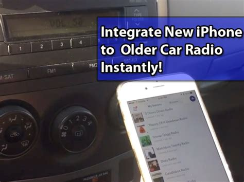 connect iphone to car how to connect iphone to car radio snapguide