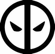 Deadpool Silhouette | Silhouette of Deadpool