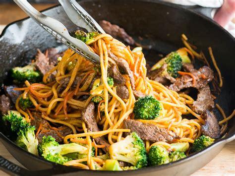 beef  broccoli chow mein recipe todd porter  diane cu food wine