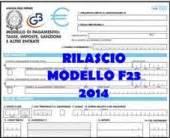 Ufficio O Ente F23 - disponibile il modello f23 2014