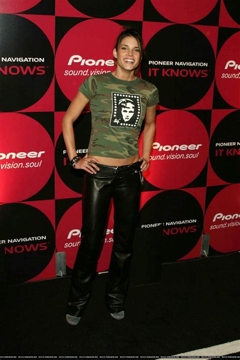 Missy Peregrym Leather Pants