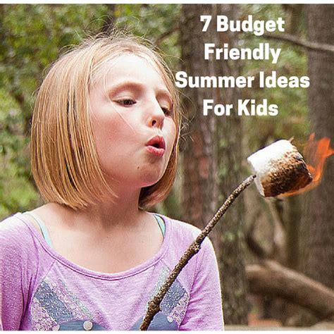 7 Budget Friendly Summer Ideas For Kids  Fit Disney Mom